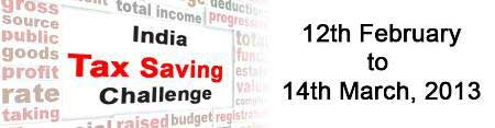 india tax saving challenge image